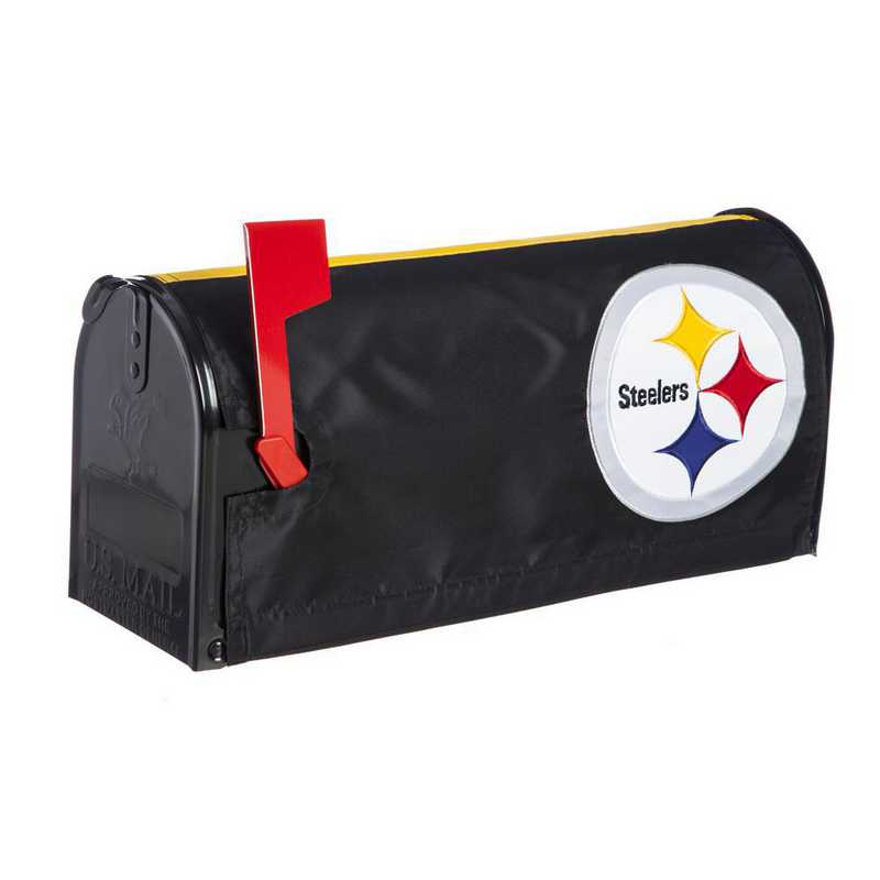 2MBC3824: EG Pittsburgh Steelers, Mailbox Cover