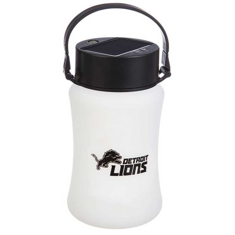 2SP3810SL: EG Silicone Solar Lantern, Detroit Lions