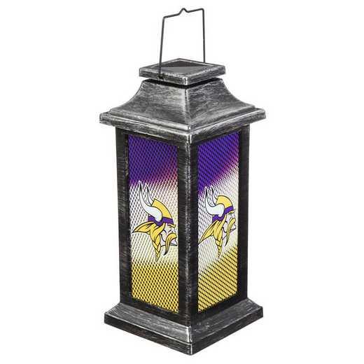 2SP3817TSA: EG Solar Garden Lantern, Minnesota Vikings