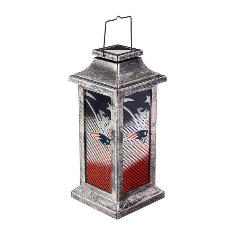 2SP3818TSA: EG Solar Garden Lantern, New England Patriots