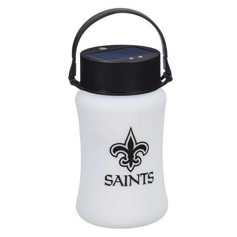 2SP3819SL: EG Silicone Solar Lantern, New Orleans Saints