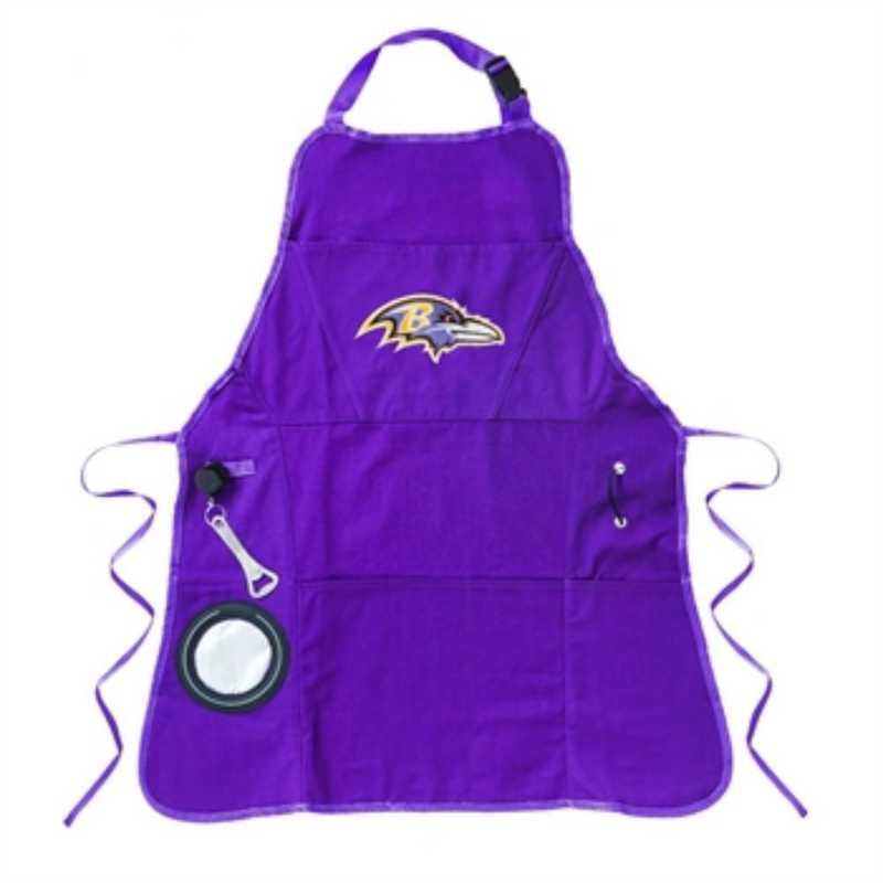 4AP3802C: EG Apron, Mens, Baltimore Ravens
