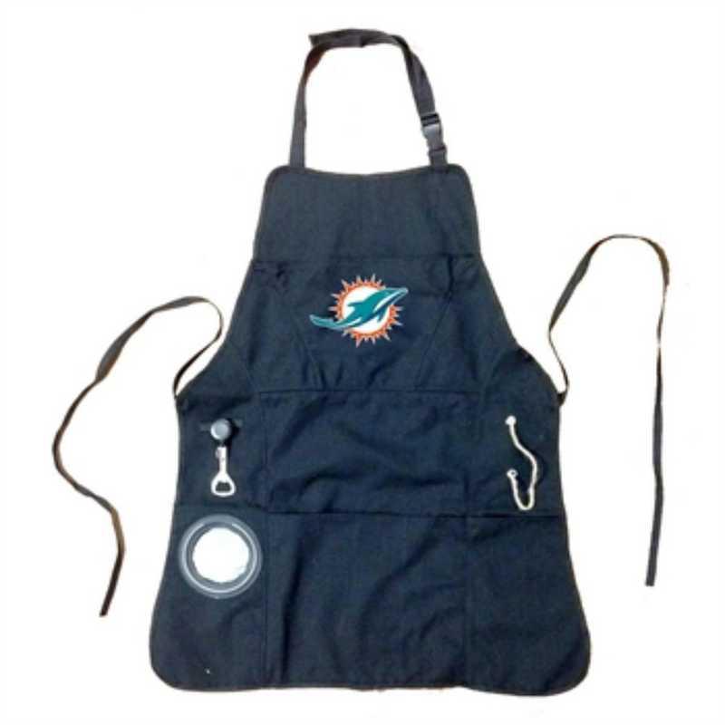 4AP3816C: EG Apron, Mens, Miami Dolphins