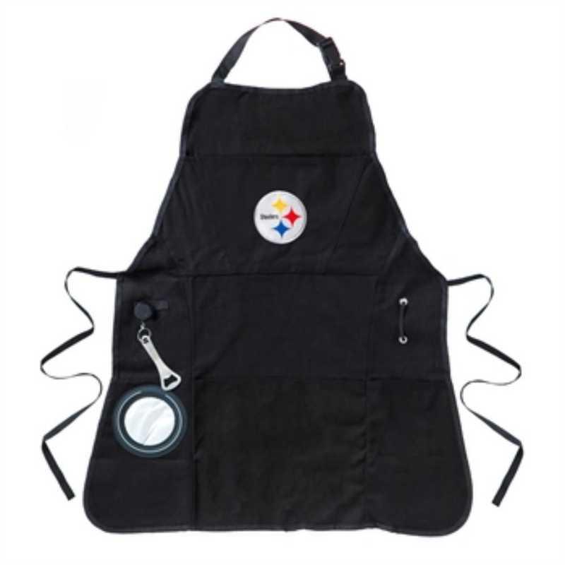 4AP3824C: EG Grilling Apron, Pittsburgh Steelers