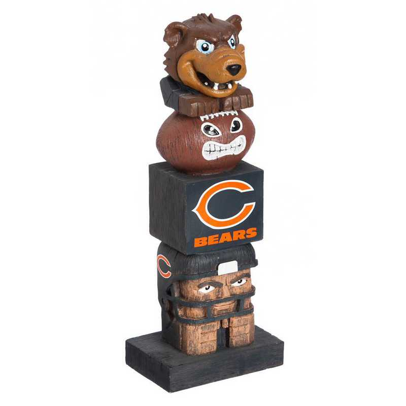 843805TT: EG Team Garden Statue, Chicago Bears