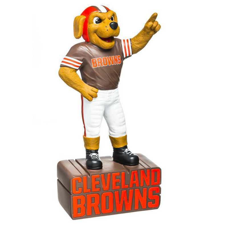 843807MS: EG Cleveland Browns, Mascot Statue