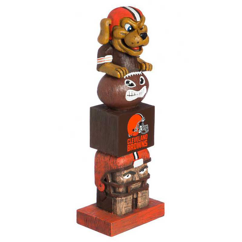 843807TT: EG Team Garden Statue, Cleveland Browns