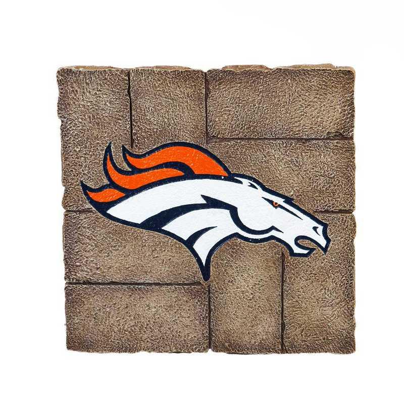 843809GS: EG Denver Broncos, Garden Stone