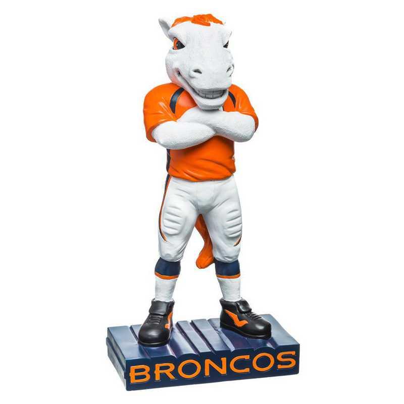 843809MS: EG Denver Broncos, Mascot Statue