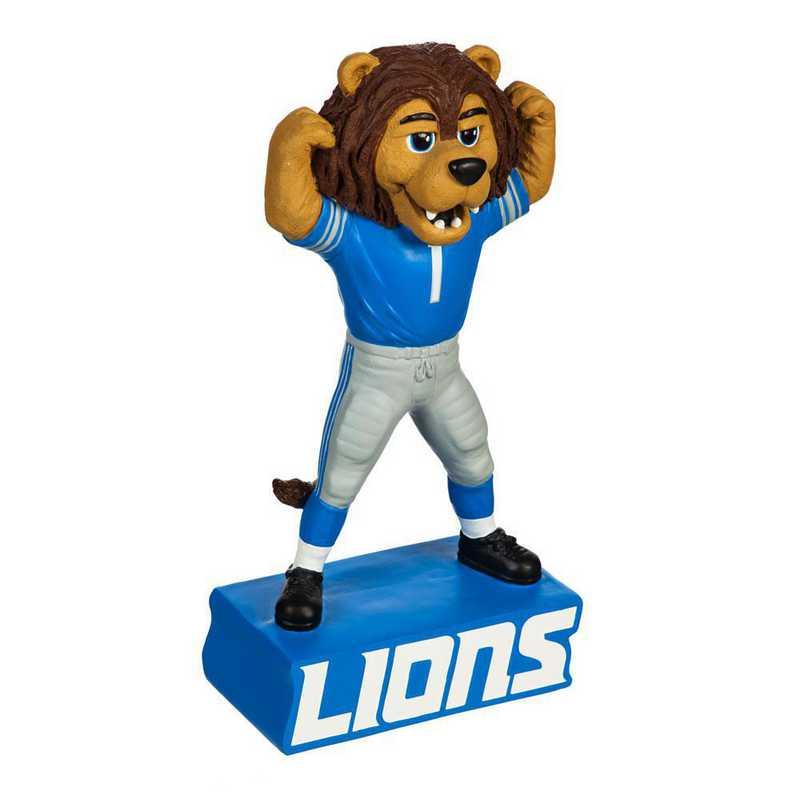 843810MS: EG Detroit Lions, Mascot Statue