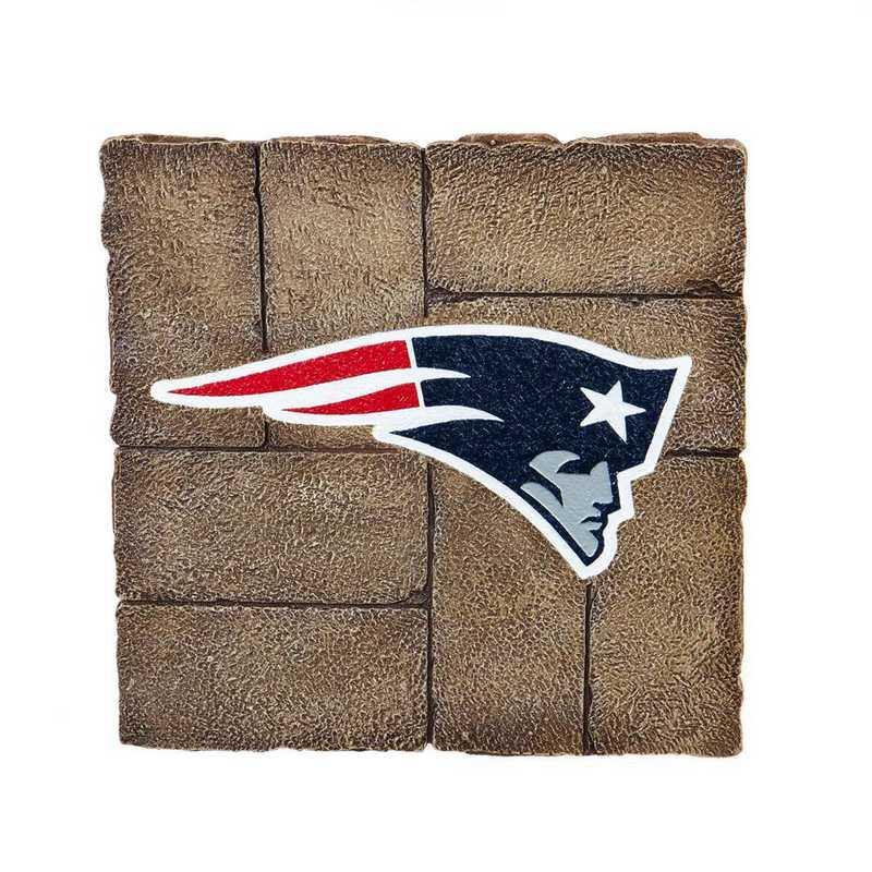 843818GS: EG New England Patriots, Garden Stone