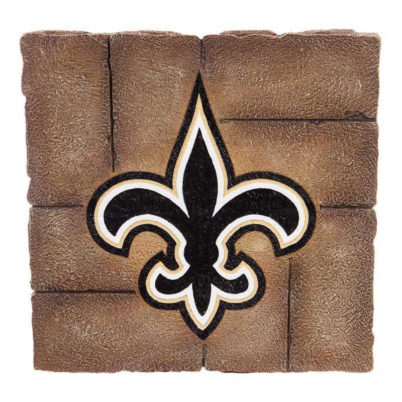 843819GS: EG New Orleans Saints, Garden Stone