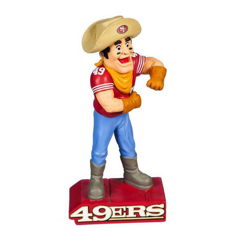 843826MS: EG San Francisco 49ers, Mascot Statue