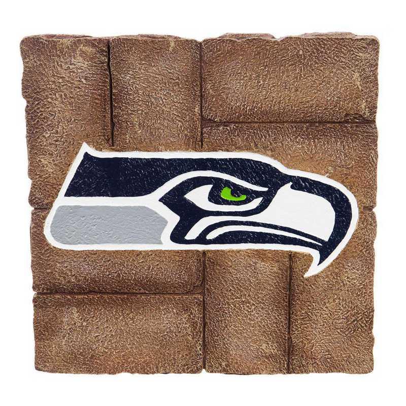 843827GS: EG Seattle Seahawks, Garden Stone