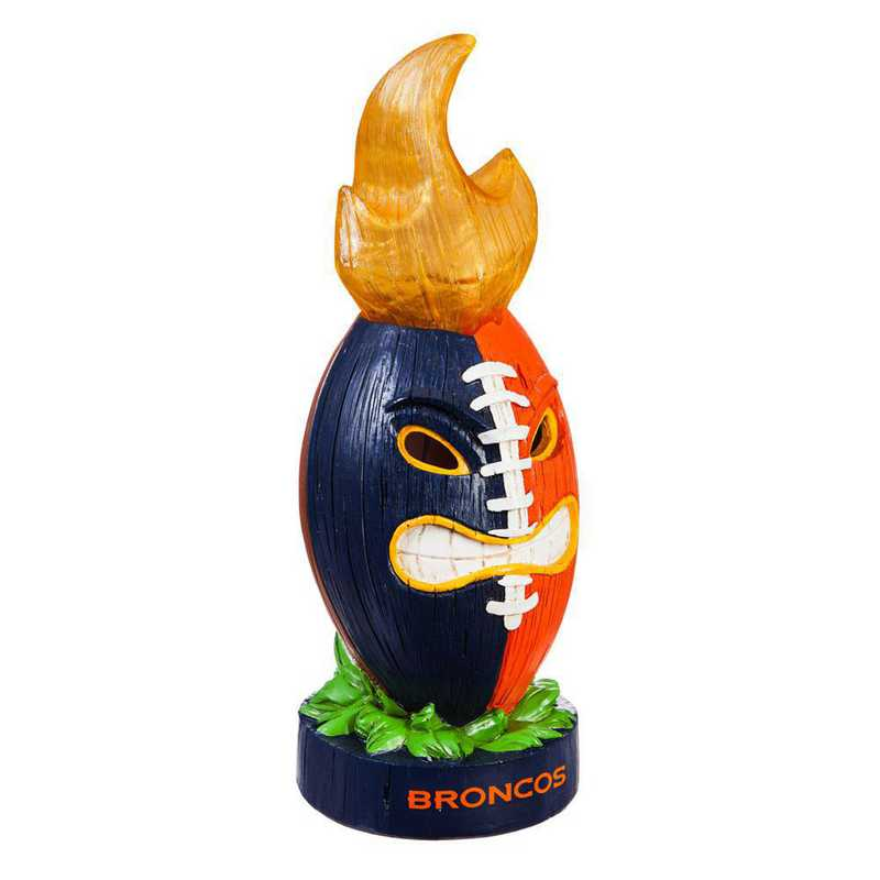 84G3809FB: EG Denver Broncos, Lit Team Ball Statue