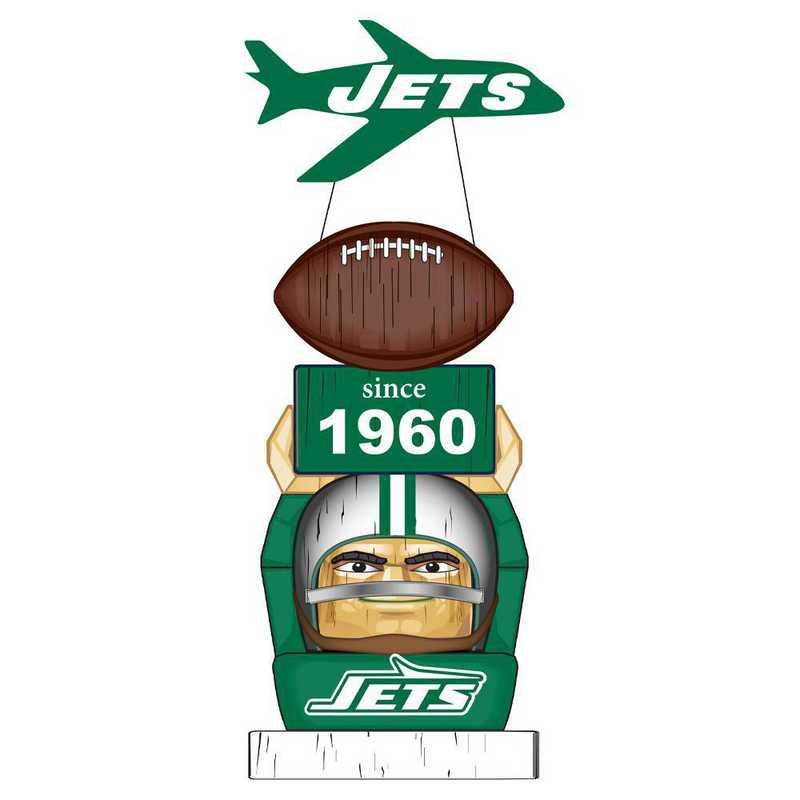 84V3821TT: EG New York Jets, Vintage Garden Statue