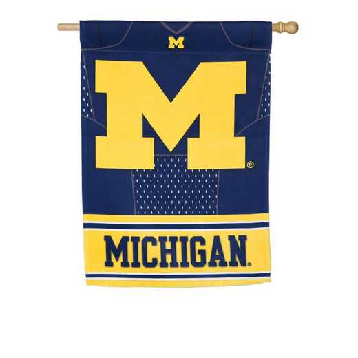 13S920BLJ: EG Michigan Foil Flag