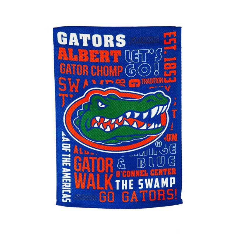 14ES939FR: EG Florida Fan Rules Garden Flag