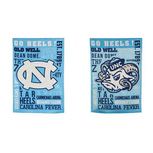 14ES951FR: EG UNC Fan Rules Garden Flag