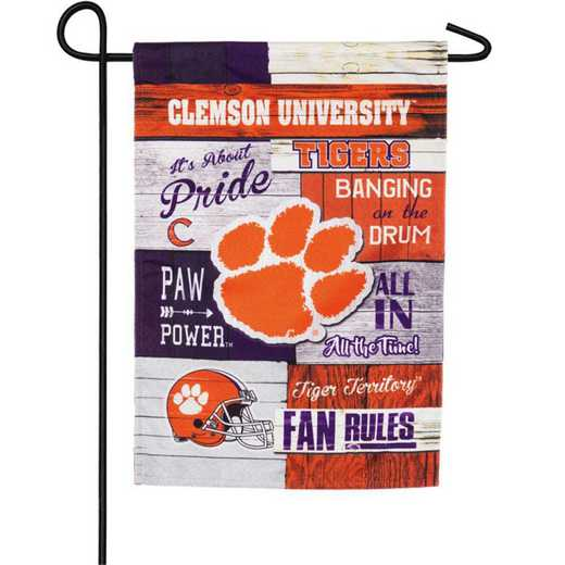 14L912FR: Linen Fan Rules GAR, Clemson University