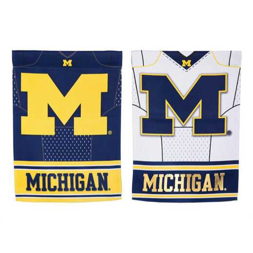 14S920BLJ: EG Michigan Foil Garden Flag