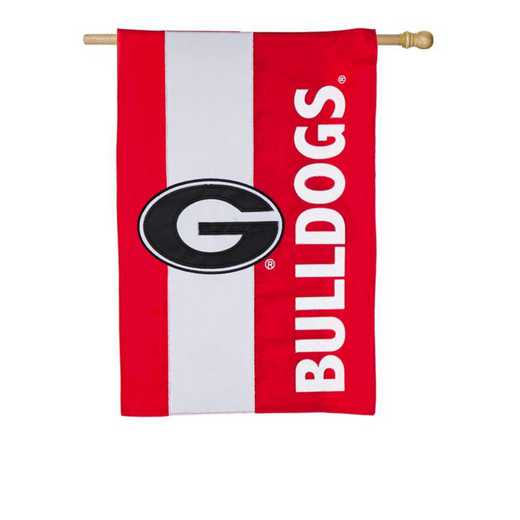 15SF914: EG Georgia Embellished Flag