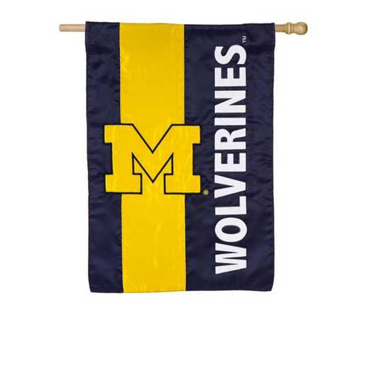 15SF920: EG Michigan Embellished Flag