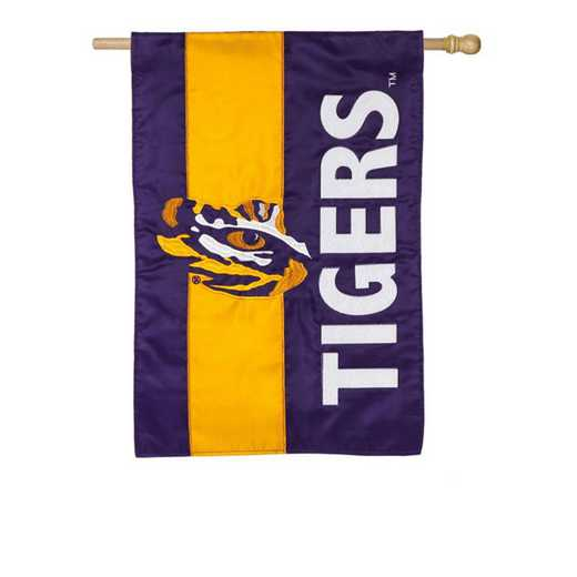 15SF921: EG LSU Embellished Flag