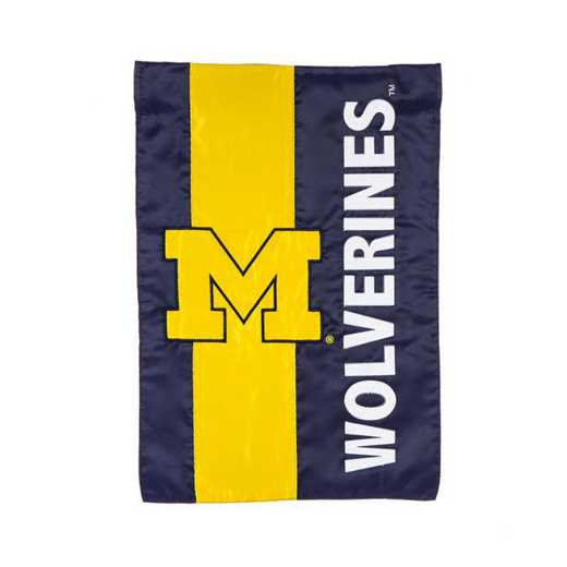 16SF920: EG Michigan  Embellished Garden Flag