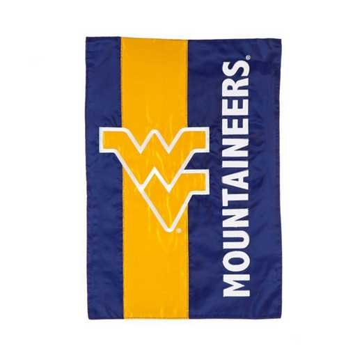 16SF967: EG West Virginia  Embellished Garden Flag