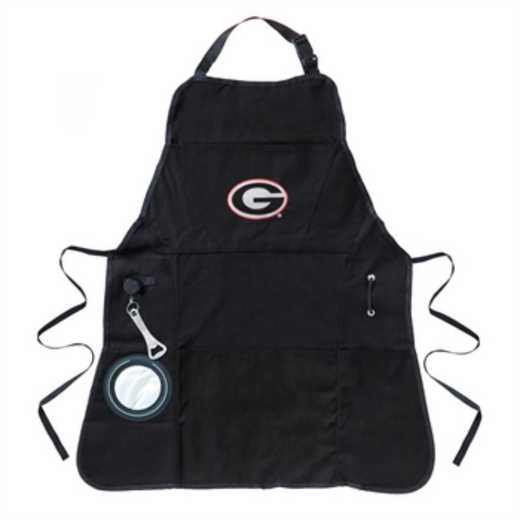 4AP914C: EG Apron, Mens, University of Georgia
