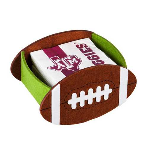 P1044969: EG Texas A&M, Napkin Felt Gift Set