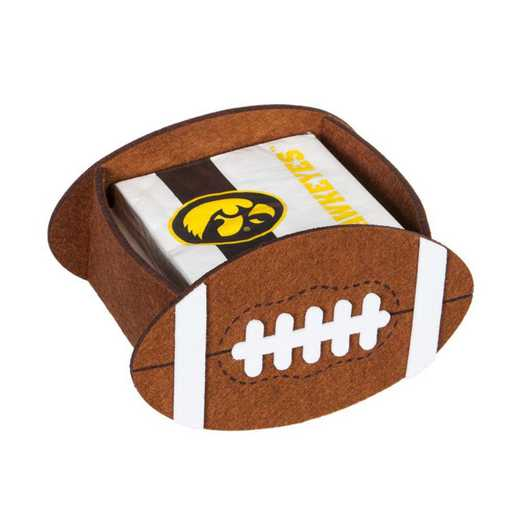 P1044980: EG University of Iowa, Napkin Felt Gift Set