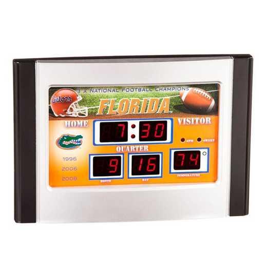 0128603: EG 6.5X9 SB CLOCK,  FLORIDA