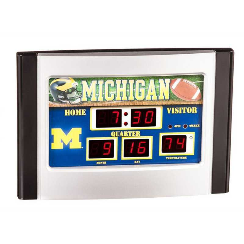 0128609: EG 6.5X9 SB CLOCK,  MICHIGAN