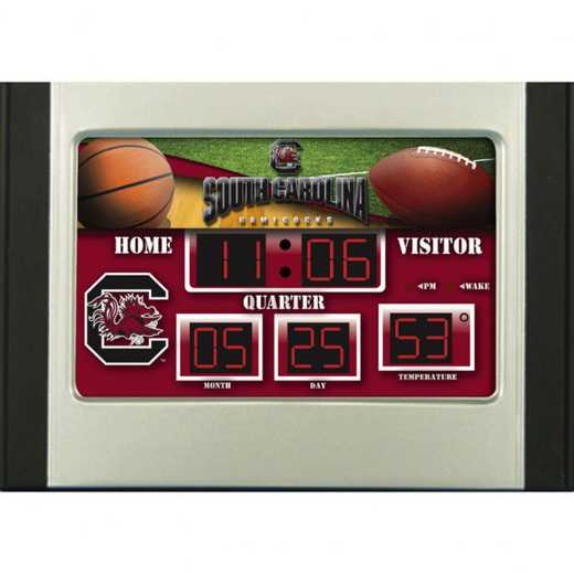 0128621: EG 6.5X9 SB CLOCK,  South Carolina