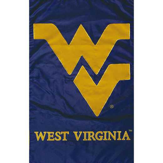 11967D: EG West VA Applique Grden Flag
