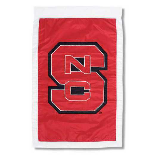 15909B: EG NC State Apploque Flag