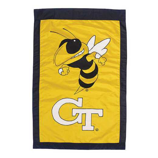 15919B: EG Georgia Tech Applique Flag