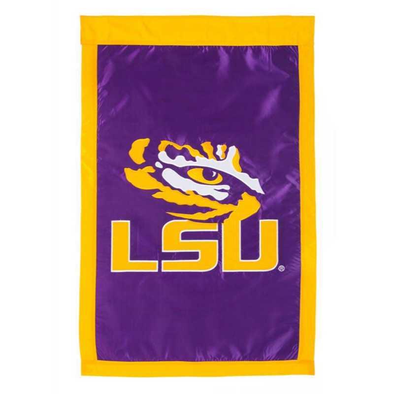 15921D: EG LSU Applique Flag