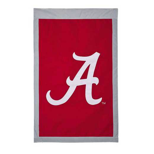 15924E: EG Alabama A Applique Flag