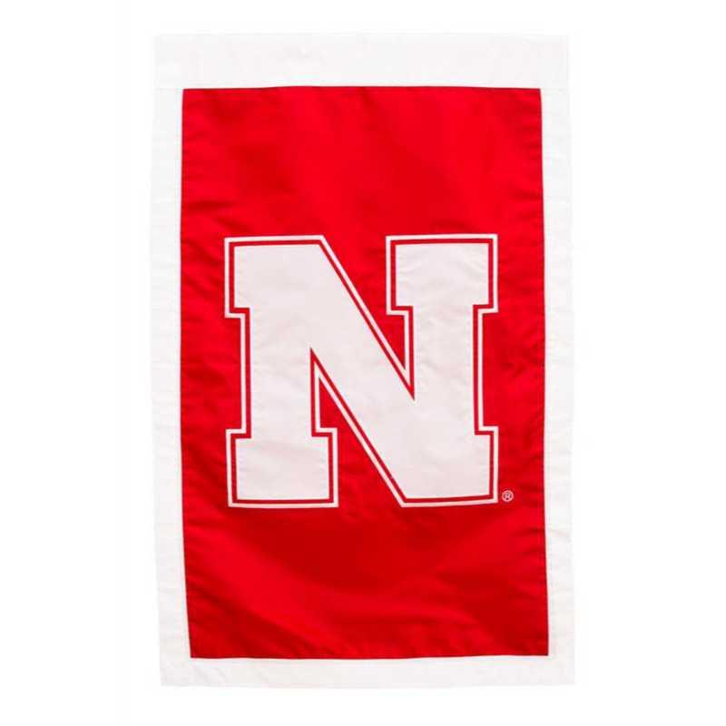 15949D: EG Nebraska Applique Flag
