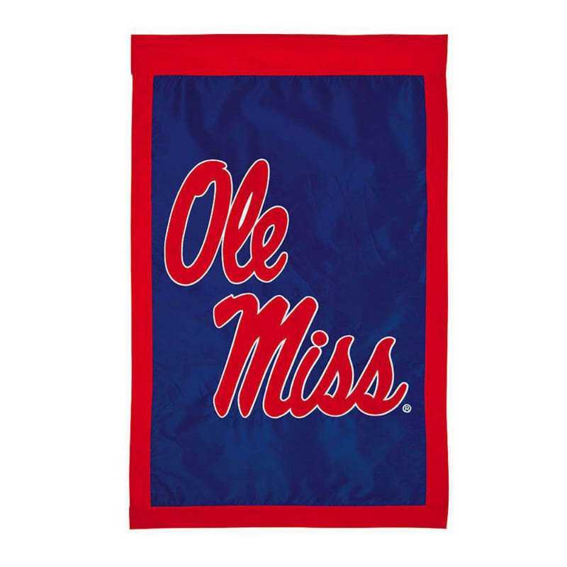 15959c: EG Ole Miss Applique Flag