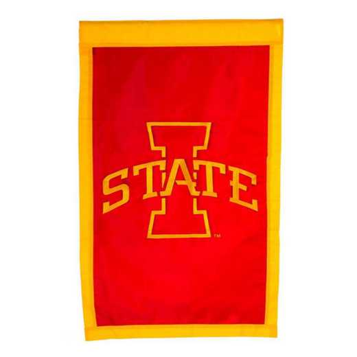 15962B: EG Iowa State Applique Flag