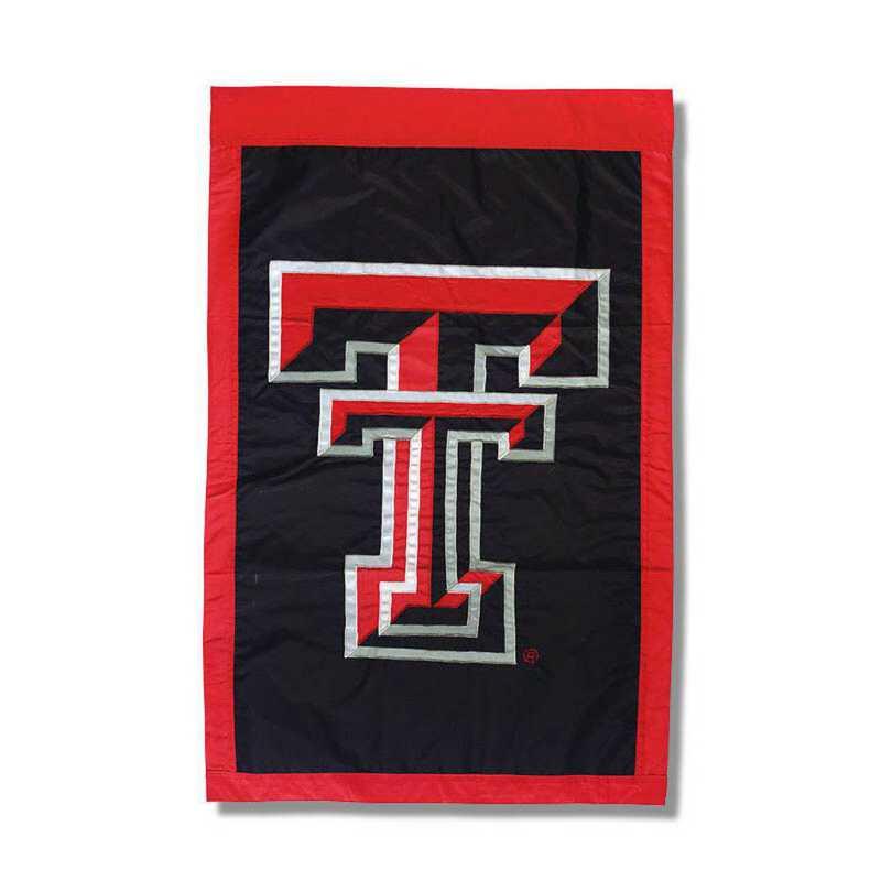 15963B: EG Texas Tech Applique Flag
