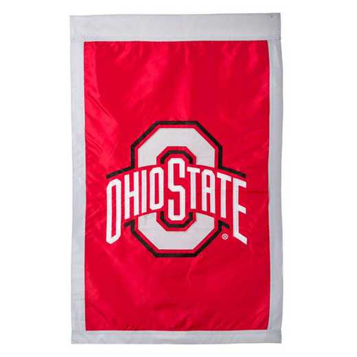 15973C: EG Ohio State Applique Flag