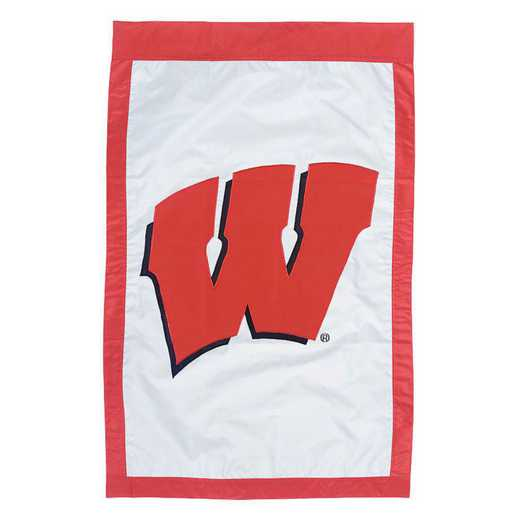 15984B: EG Wisconsin Applique Flag