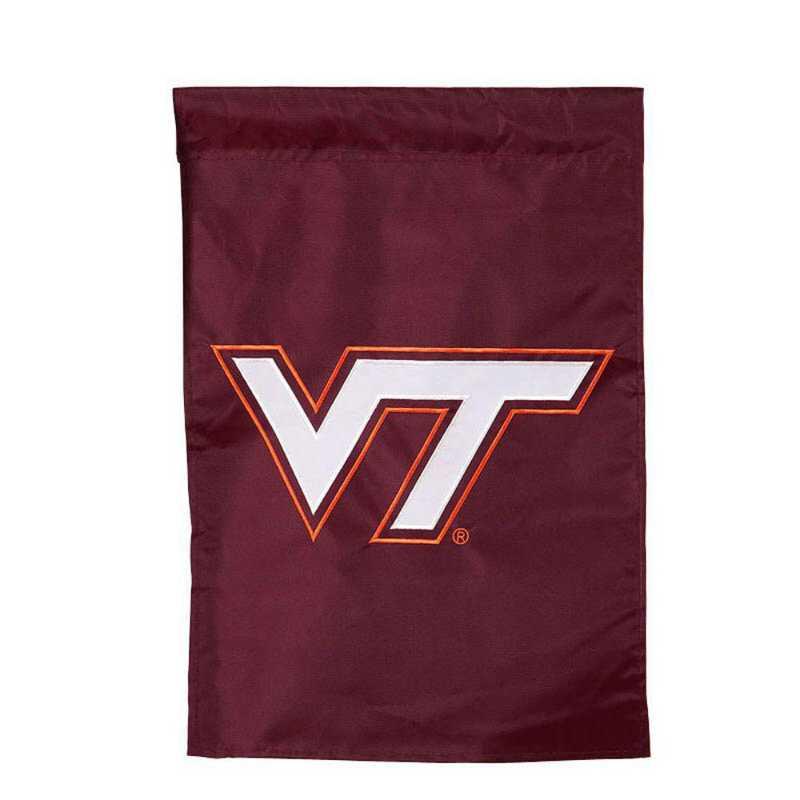 16903B: EG VA Tech Applique Garden Flag