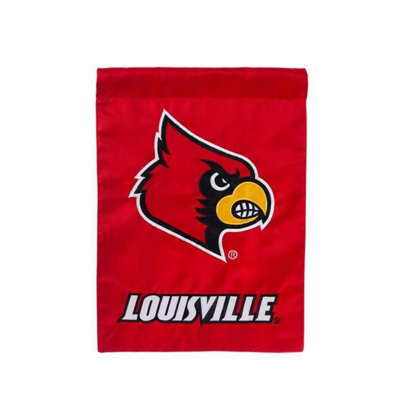 16906B: EG Louisville Appliwue Garden Flag