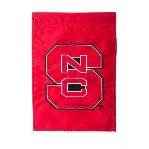 16909B: EG NCState Applique Garden Flag